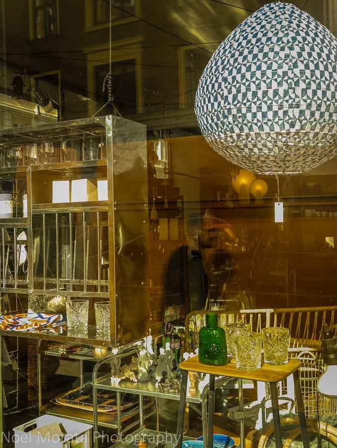 A cool design shop at Nørrebro district, Copenhagen