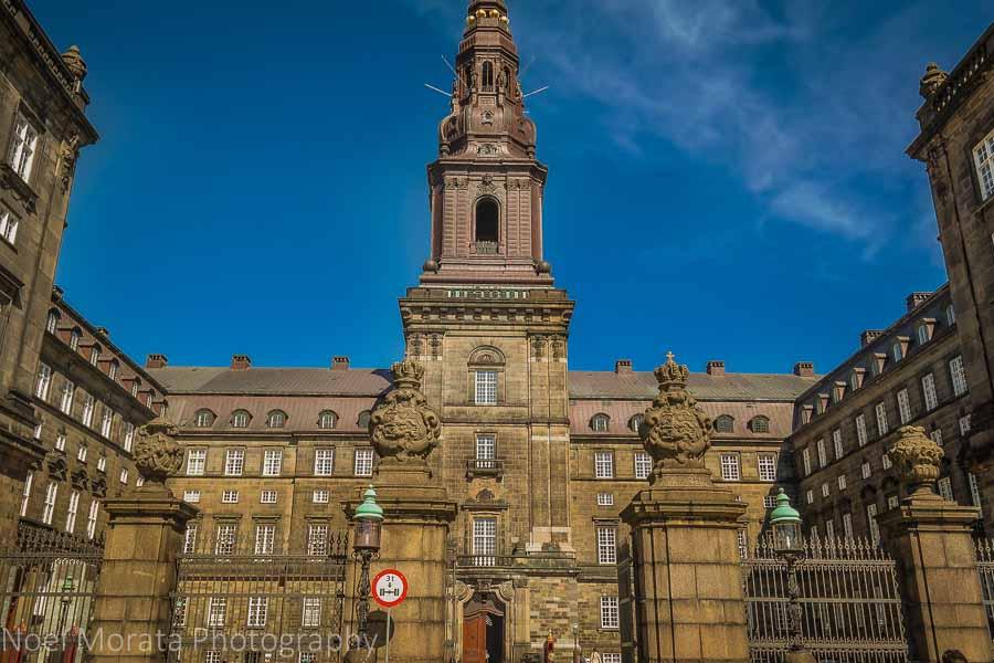 Christiansborg Palace at Slotsholmen, Copenhagen