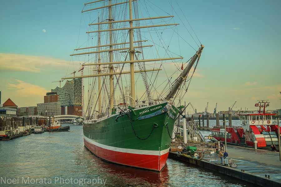 Hamburg's Museum and historic ship RICKMER RICKMERS