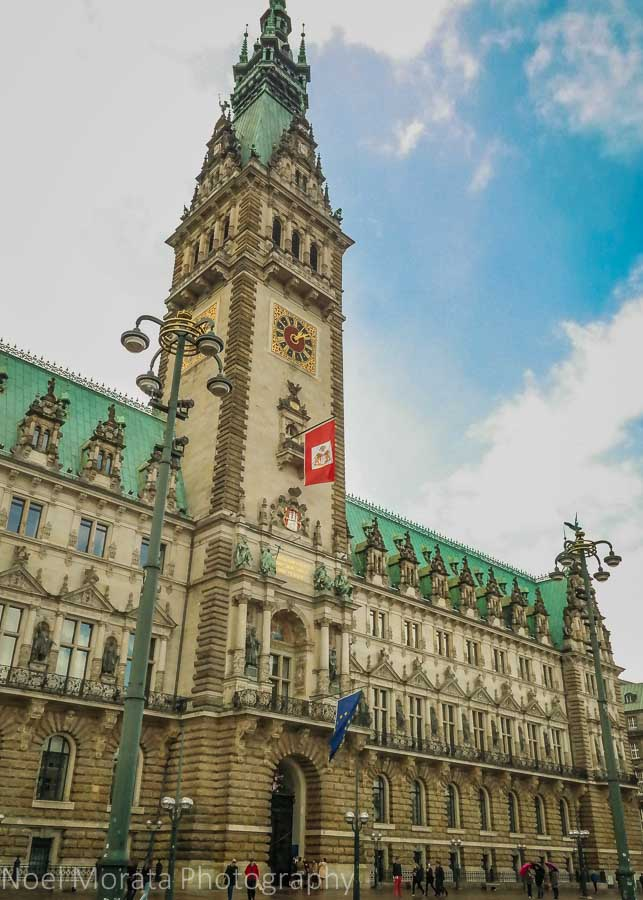 Rathaus (city hall) Hamburg