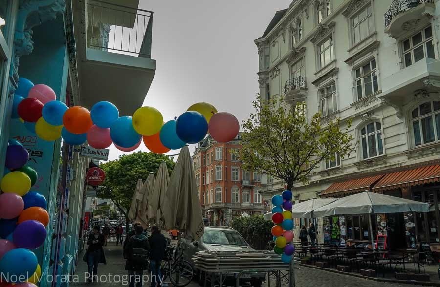 Shopping fun at Schanzenviertel neighborhood, Hamburg