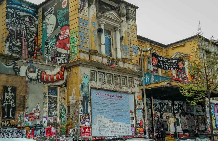 Schanzenviertel neighborhood in Hamburg