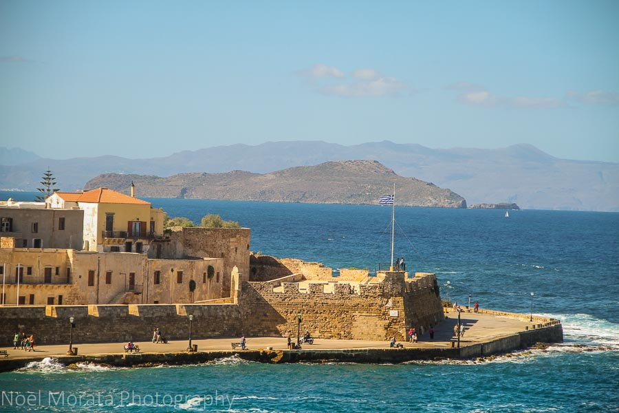 Firkas fort - Exploring Chania, Crete