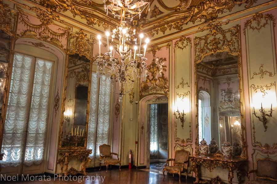 Palazzo Reale, Unesco World Heritage site at Palazzi dei Rolli in Genoa