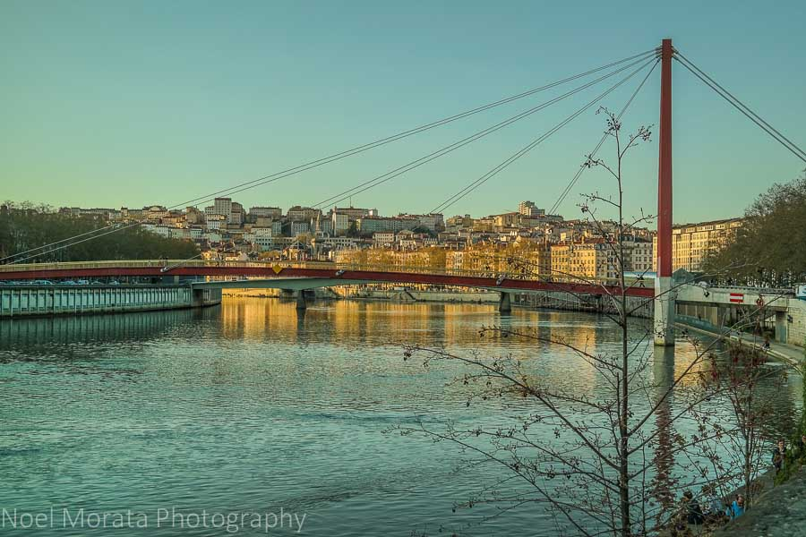 Saône river , A first impression of Lyon, France