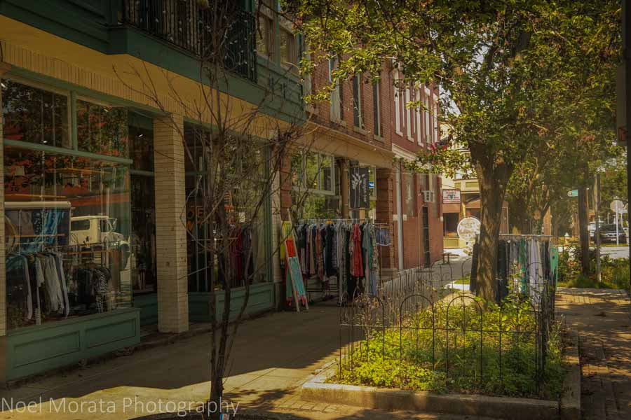 Tremont district in Cleveland, Ohio