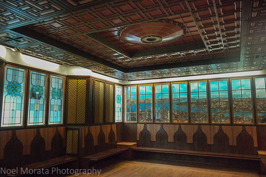 The Cathedral of learning - the Turkish room