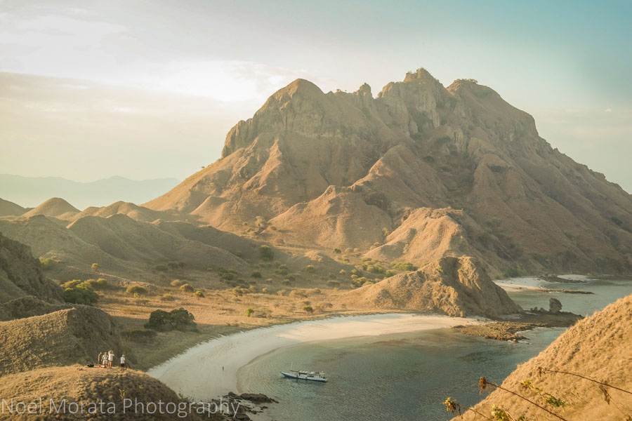 Climbing the peak of Padar Island - Visiting Komodo National Park