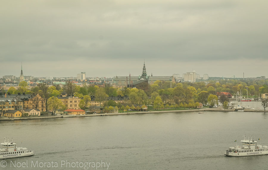 Travel by ferries in Stockholm - Visiting Stockholm - a first impression