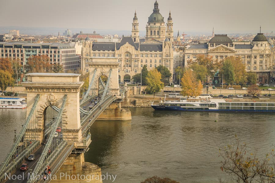 Chain bridge and Pest - Best places to photograph Budapest, Hungary