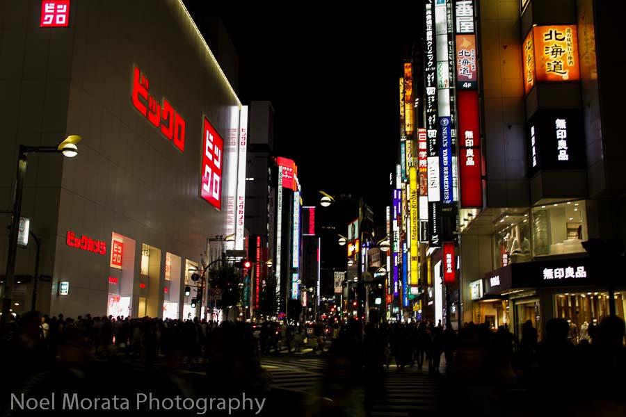 Kabukicho in the Shinjuku district of Tokyo