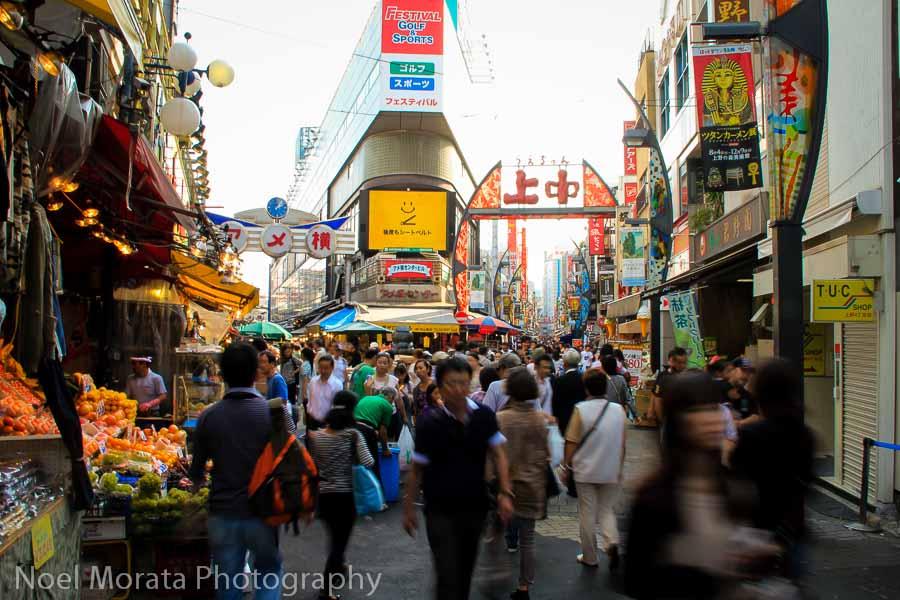Ameya-yokocho - 20 Free things to do in Tokyo