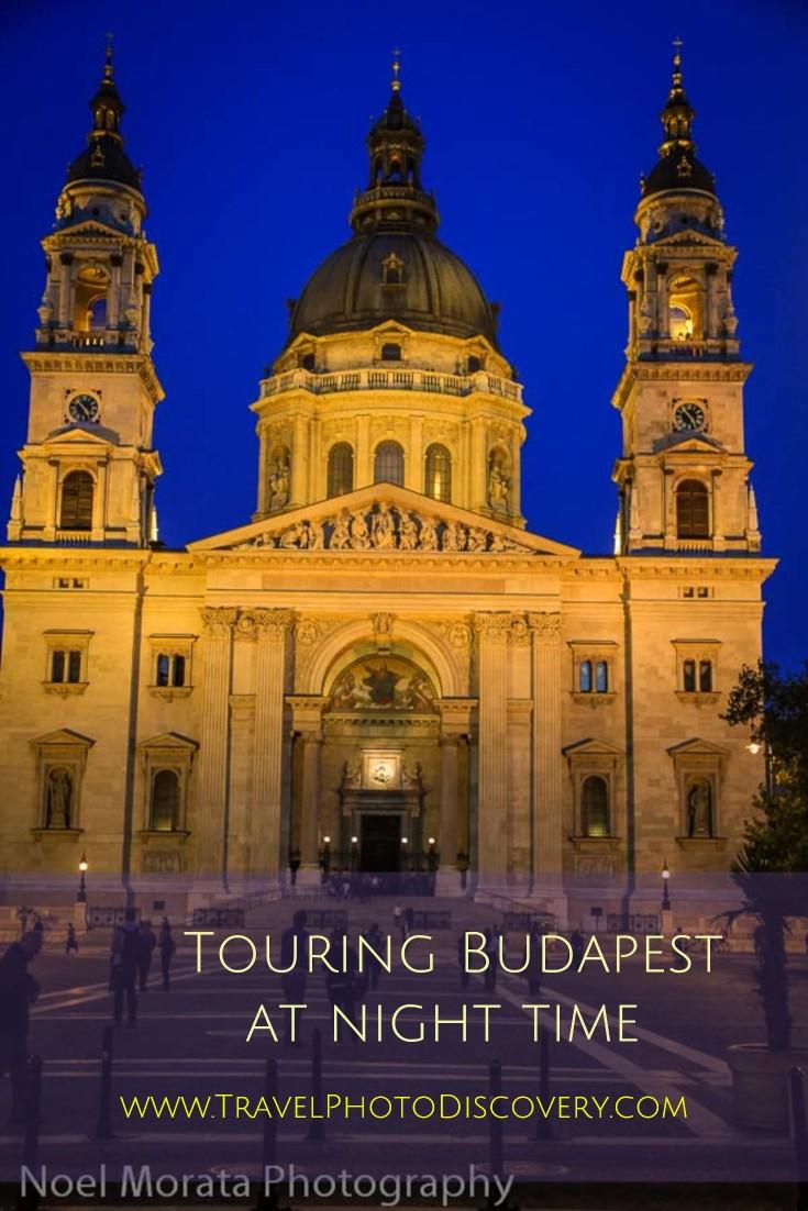 Touring Budapest at night