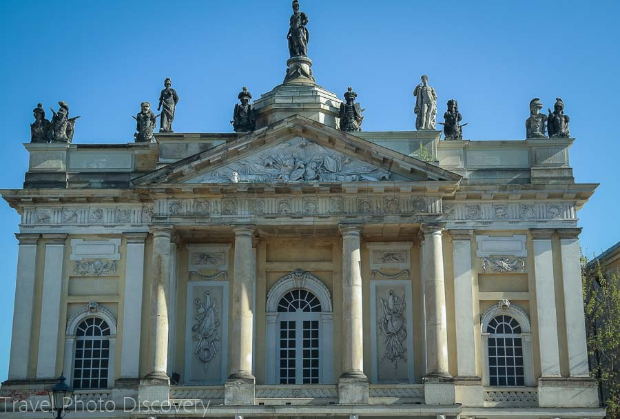 A grand architectural building in Potsdam, Germany