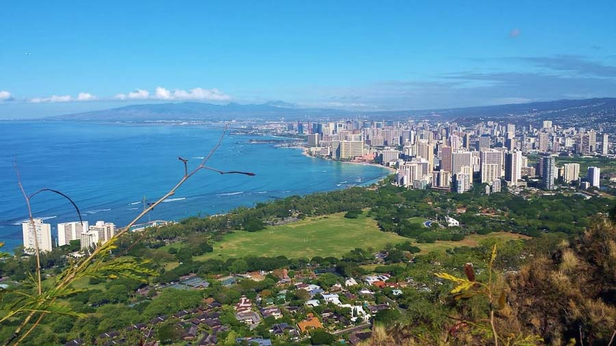 Diamond Head view Boomer international bucket list travel