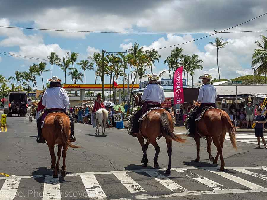 Merrie Monarch Parade in Hilo Hawaii 2016