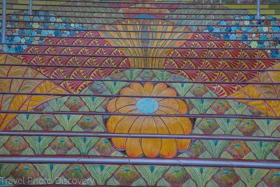 Katherine Delmar Burke School Cool stairs in San Francisco