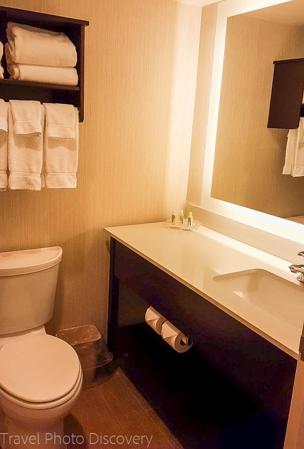 Holiday Inn bathroom Helena Montana