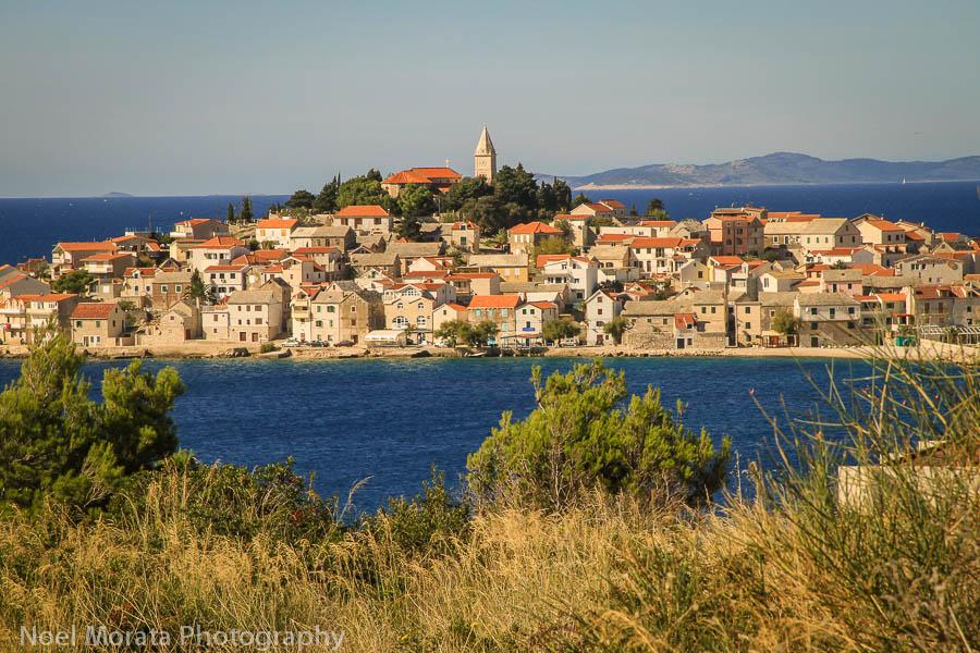 Primosten Fall road trip through Croatia