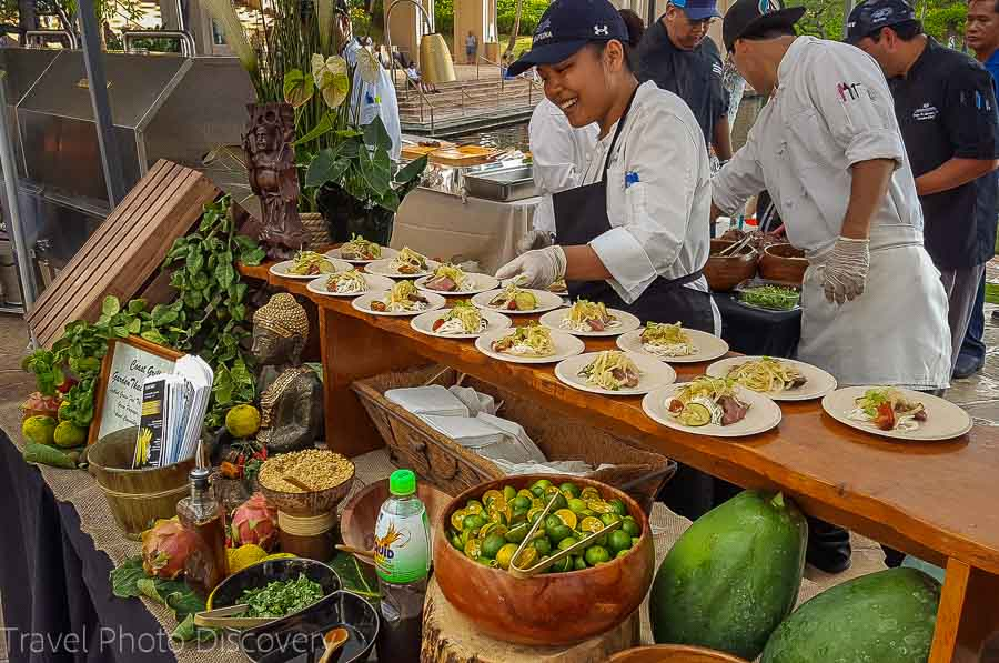 Hilton Waikoloa Taste of the Hawaiian Range