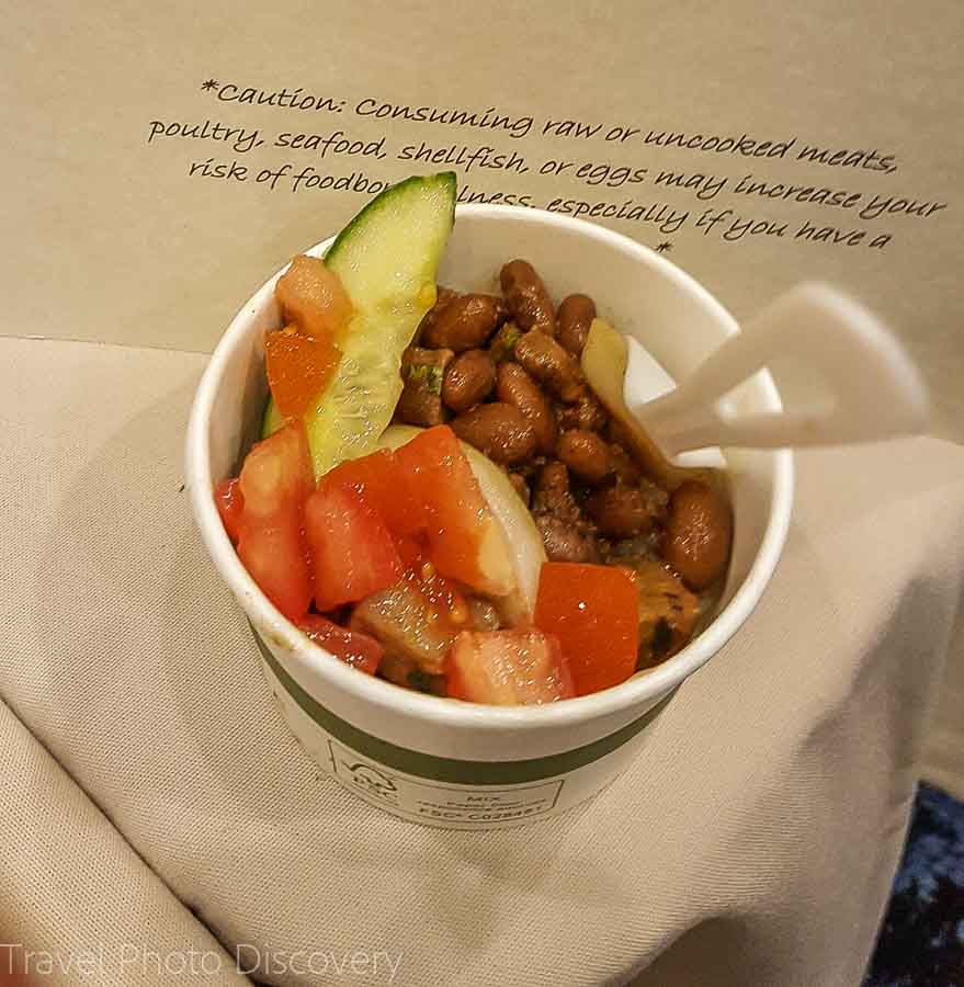 Ranchers Poke Bowl taste of the Hawaiian range
