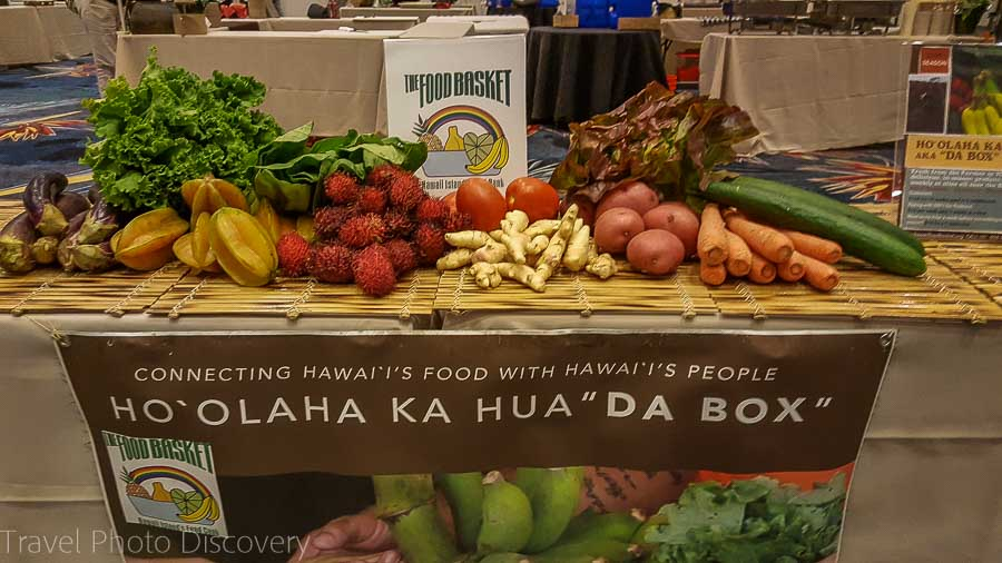 Hawaii Food Basket Taste of the Hawaiian Range