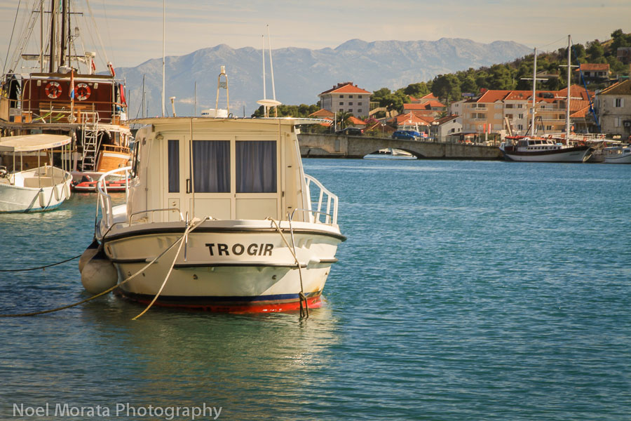 Along the Dalmatian coastline at Trogir