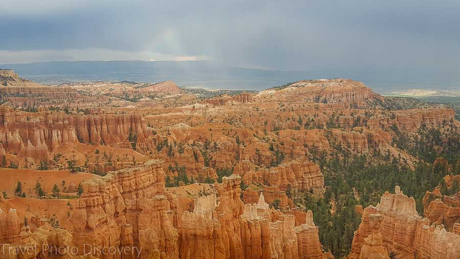 Main vista point Visiting Bryce Canyon National Park