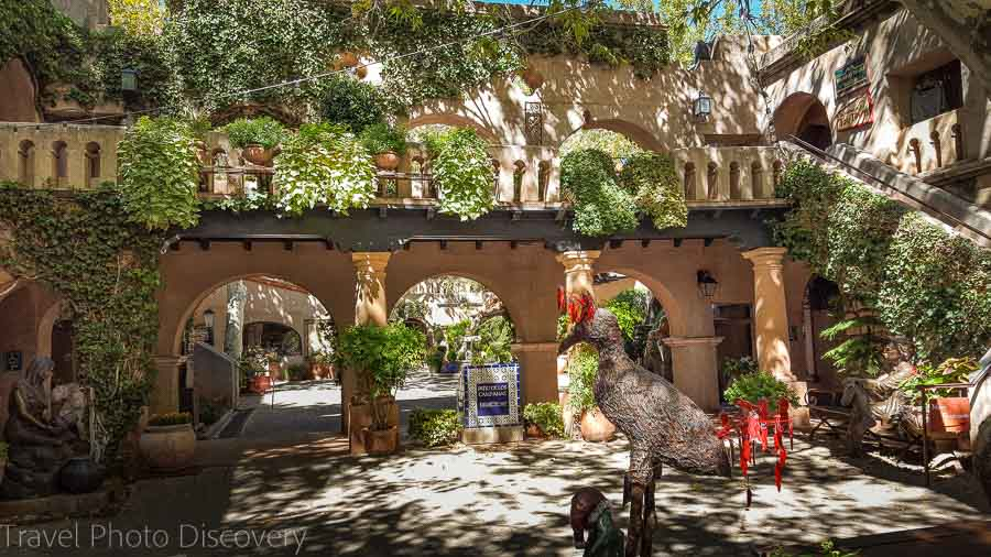 Tlaquepaque Arts Village Visiting Sedona landscapes and attractions