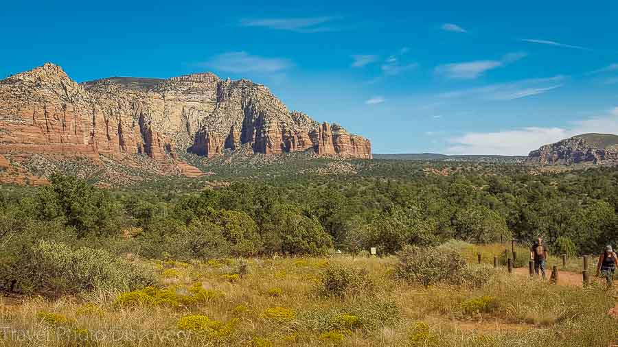 Oak Creek trails outside of Sedona Arizona
