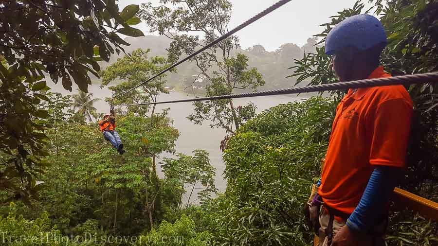 Zip line adventure tour Panama City, Panama