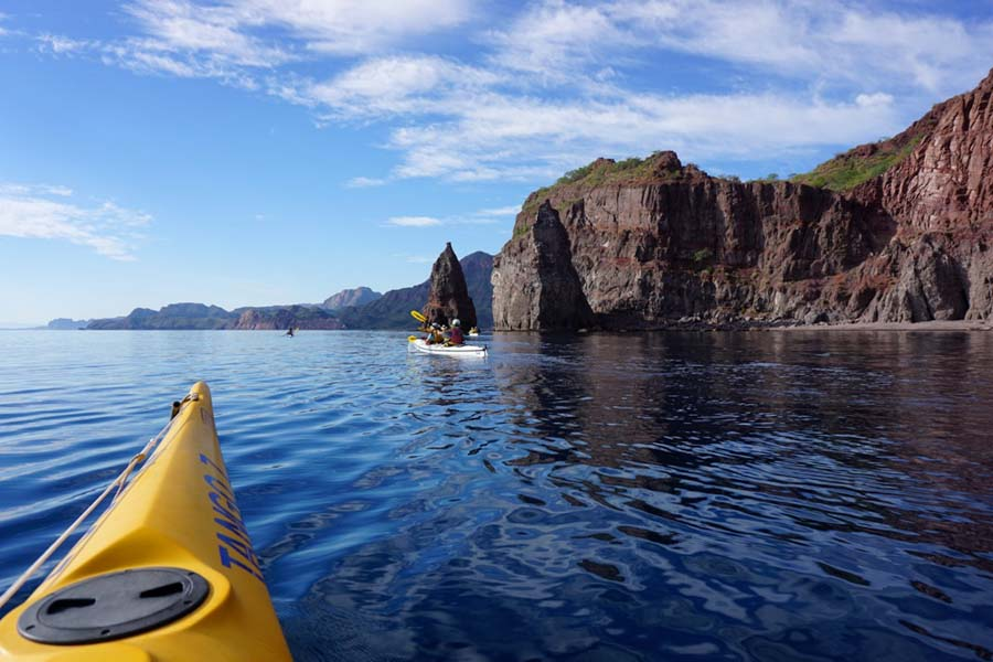 Top adventure and eco experiences kayaking Baja Mexico