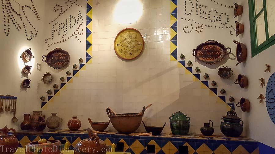Frida Kahlo Museum or Casa Azul in Mexico City