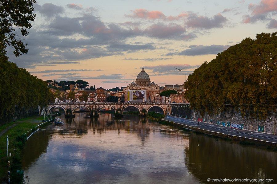 Romantic getaways around the world Rome, Italy