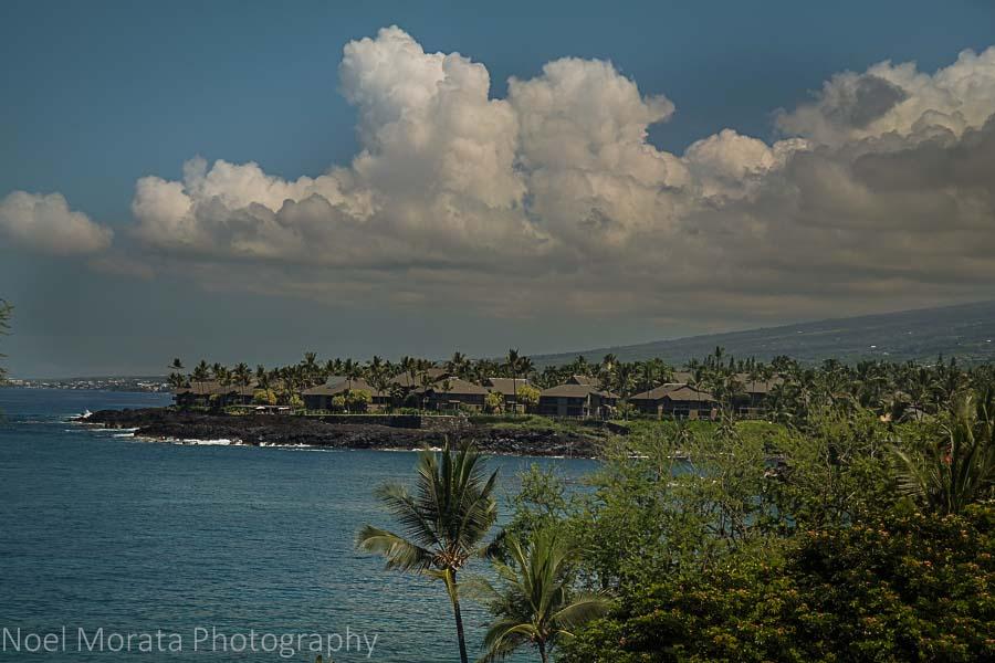 Things to do the Big Island with kids Kona coastline
