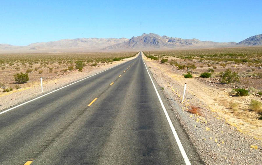Driving route 50 in Nevada Top road trips USA