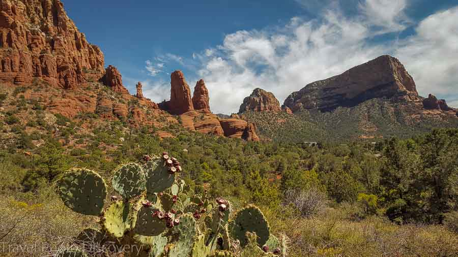 The Red Rocks of Sedona Top road trips in the USA