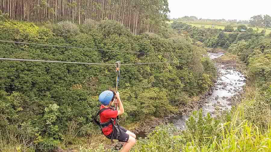 Ziplining Big Island Things to do the Big Island with kids