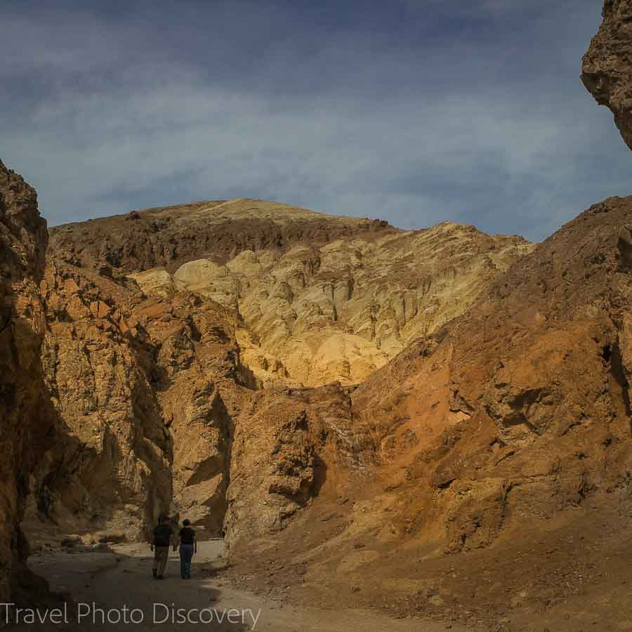 Hiking the Golden Canyon Trail at Death Valley National Park