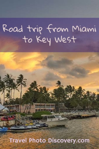 A road trip from Miami to Key West