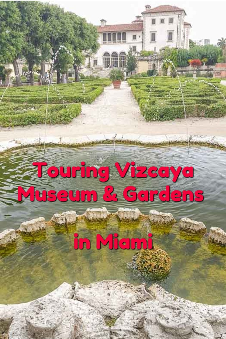 Touring Vizcaya Museum & Gardens Miami