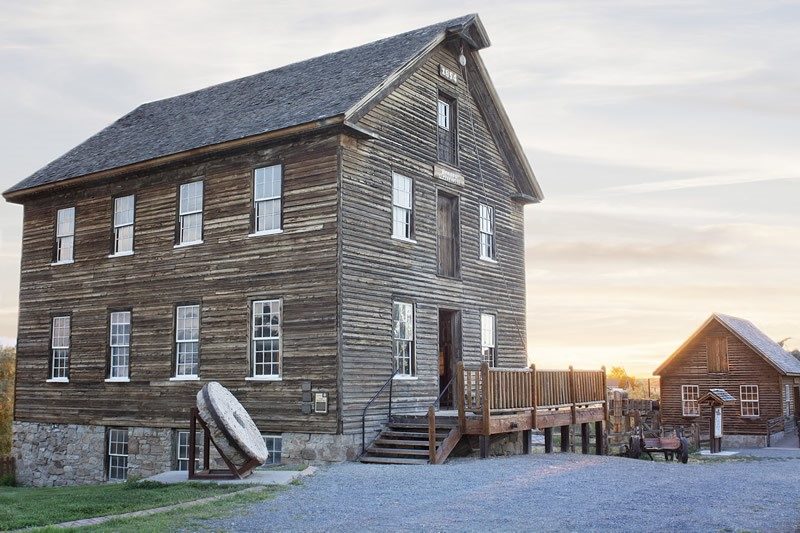Bensen Gristmill Tooele County in Utah