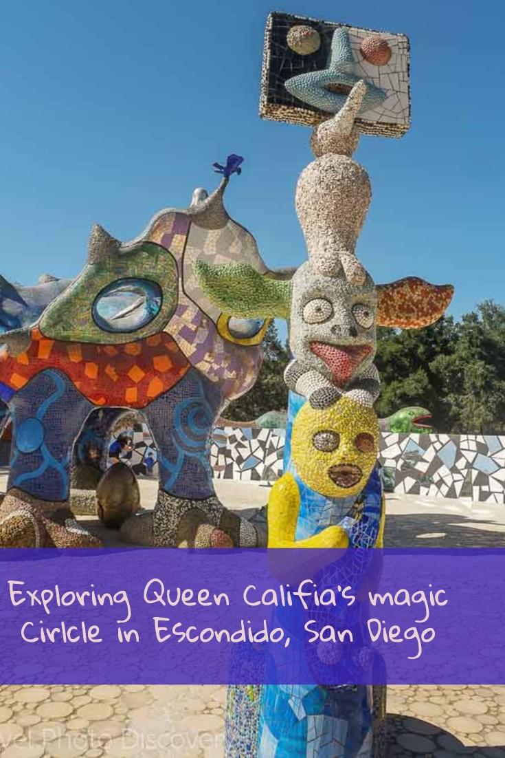 Queen Califia's magical circle in Escondido San Diego