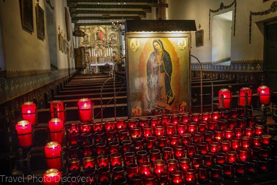 Entering the Serra Chapel at San Juan Capistrano Mission