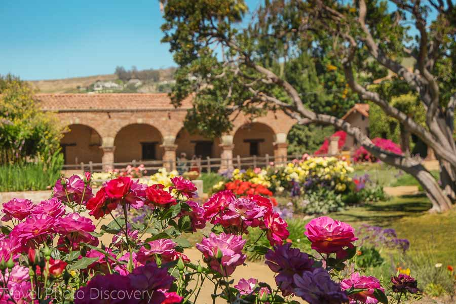 Visiting San Juan Capistrano Mission And Outdoor Gardens