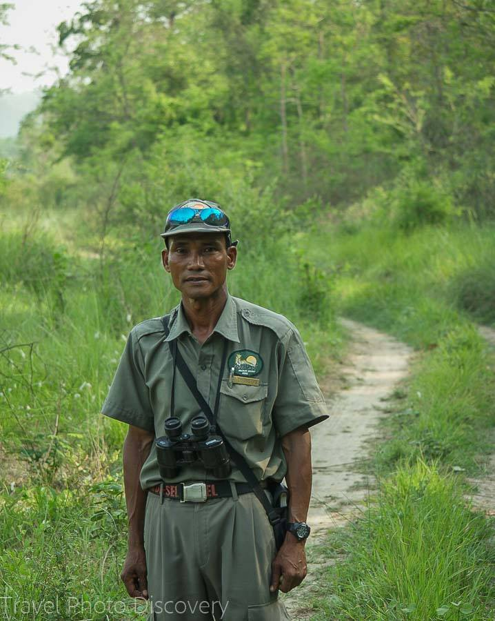 A guide at Chitwan National Park