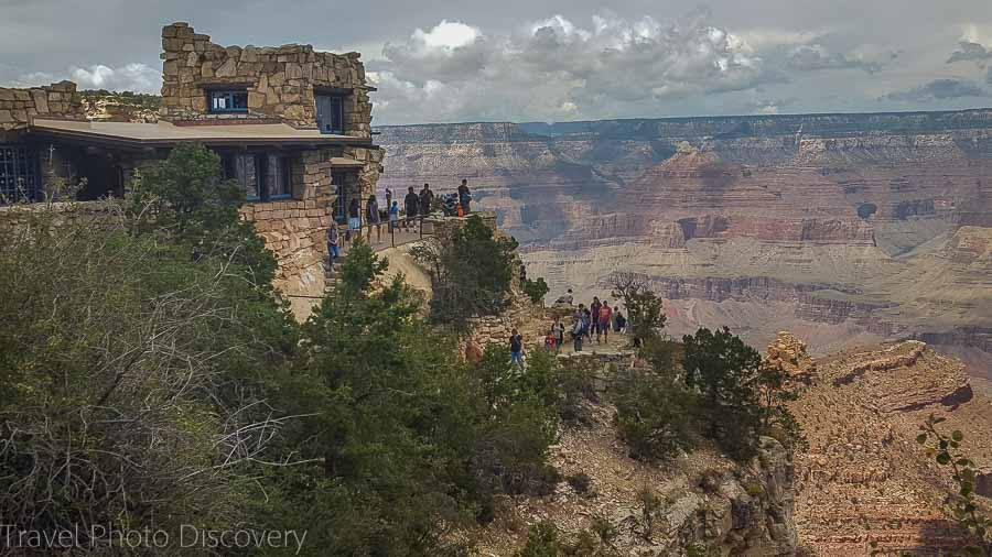 Grand Canyon village and attractions