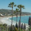 Travel Photo postcard - exploring Laguna Beach