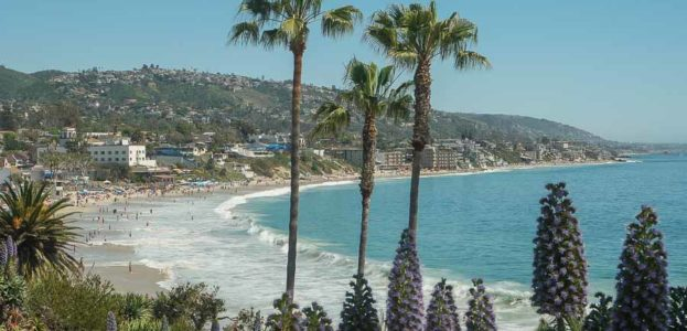 Travel Photo postcard - exploring Laguna Beach