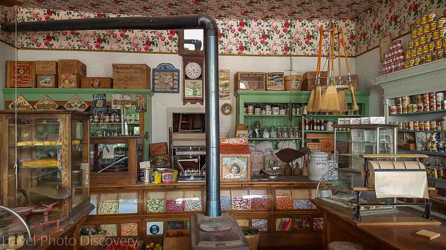 An old time general store in Virginia City Montana